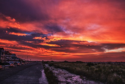 red sunrise colorful sony may nj cape a700