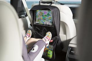 Car Seat Organiser with Tablet Holder | by Maguari (UK) LTD