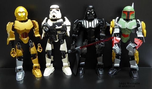 Lego Wannabe - Star Wars - Hero Factory Style