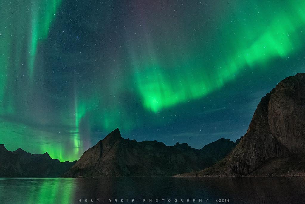 Aurora Borealis Reine Norway I Love To Wait For The