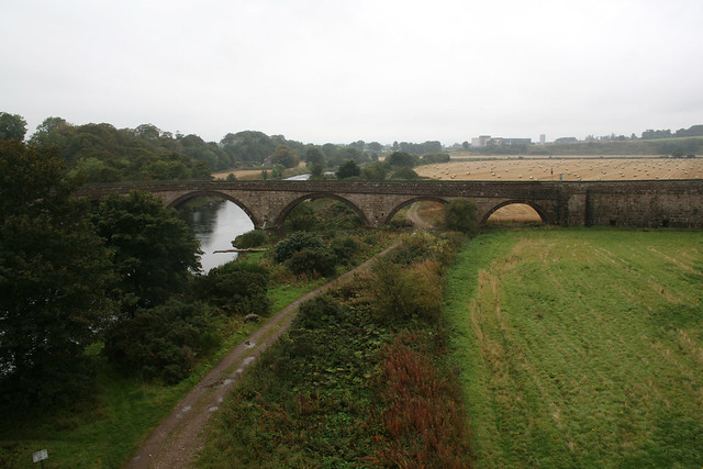 Lower North Water Bridge and the River North Esk