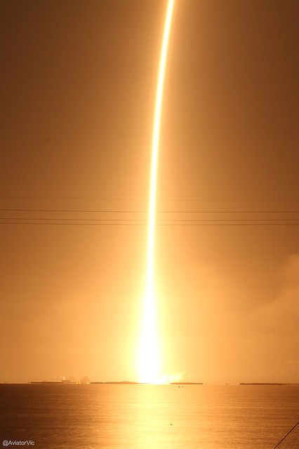 SpaceX Falcon 9 Launch - CRS-4 Mission