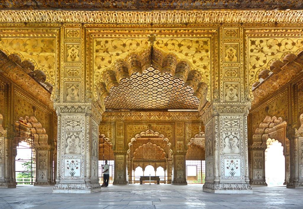 Image result for Dewan e Khaas- Red fort Delhi