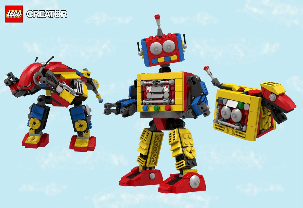 Lego Creator Clockwork Robot 31040 Check Out The Rest Flickr