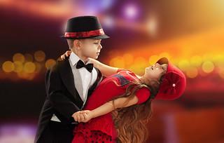 Cute Kid Dancing Romantic Love Hd Wallpaper Stylish Hd W Flickr