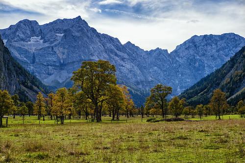 leica autumn alps landscape 50mm austria tirol österreich maple tyrol eng karwendel m240 ahornboden colorefexpro leicasummilux50mmf14ii groserahornboden