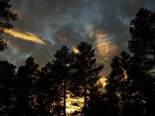 sunset arizona clouds pinetop northwoodsresort pinetoplakeside pinetoparizona azwsunset pinetopvacation2014