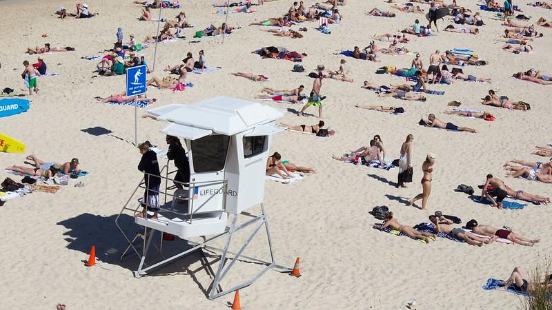 Lifeguard on Duty: Tamarama Beach