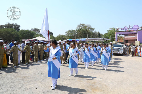 Sewadal band led the procession