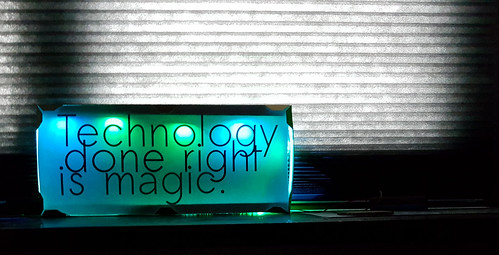 Technology is magic. | by michael pollak