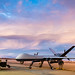 Airmen of the 49th Aircraft Maintenance Squadron tow an MQ-9 Reaper remotely piloted aircraft from the flightline at Holloman Air Force Base, N.M., Dec. 16, 2016. The squadron supports the 6th Reconnaissance Squadron as well as the 9th and 29th Attack Squadrons, enabling the graduation of pilots and sensor operators in support of the Air Force's largest formal training unit. (U.S. Air Force photo by J.M. Eddins Jr.)