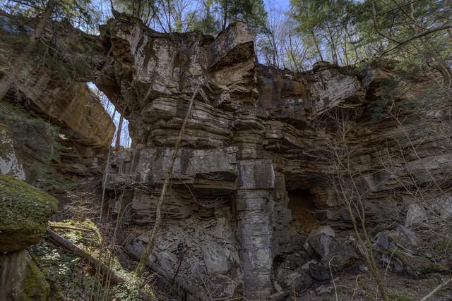 Medley Arch, Fall Creek Falls State Park, Van Buren County, Tennessee 2