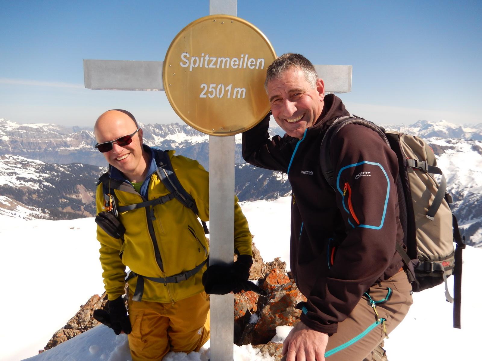 Skitourentage Spitzmeilen 25.03.2017