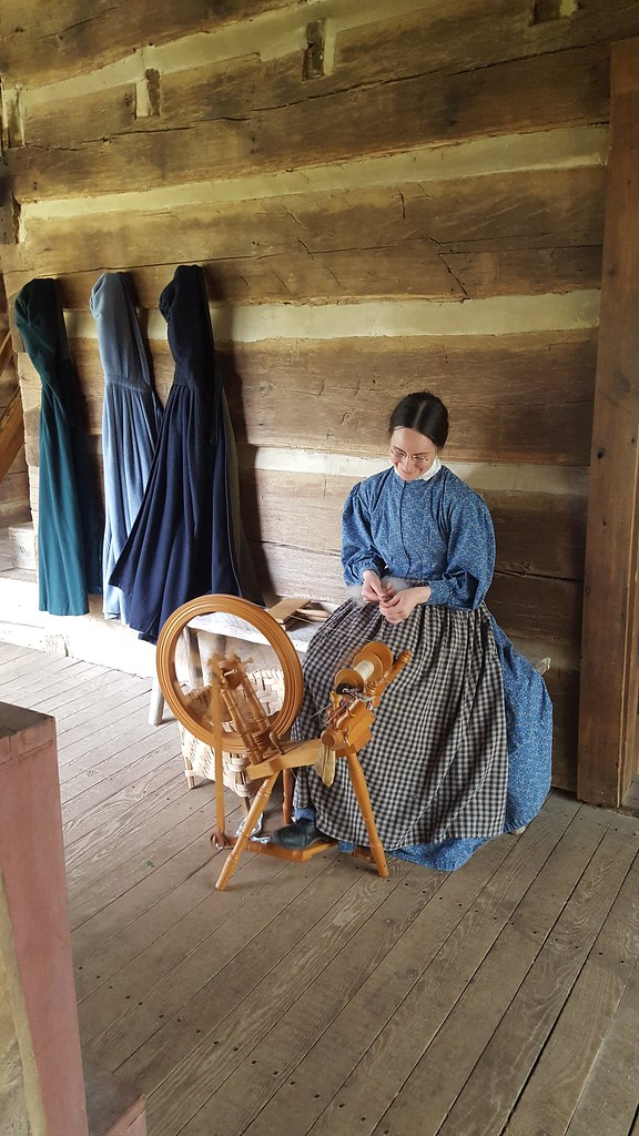 Ewe To Yarn Challenge At The Homeplace 1850s Working Farm Flickr