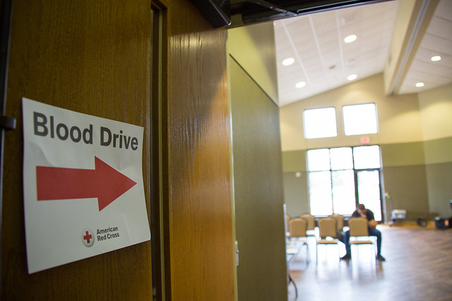 2017 Spring UWGB Red Cross Blood Drive