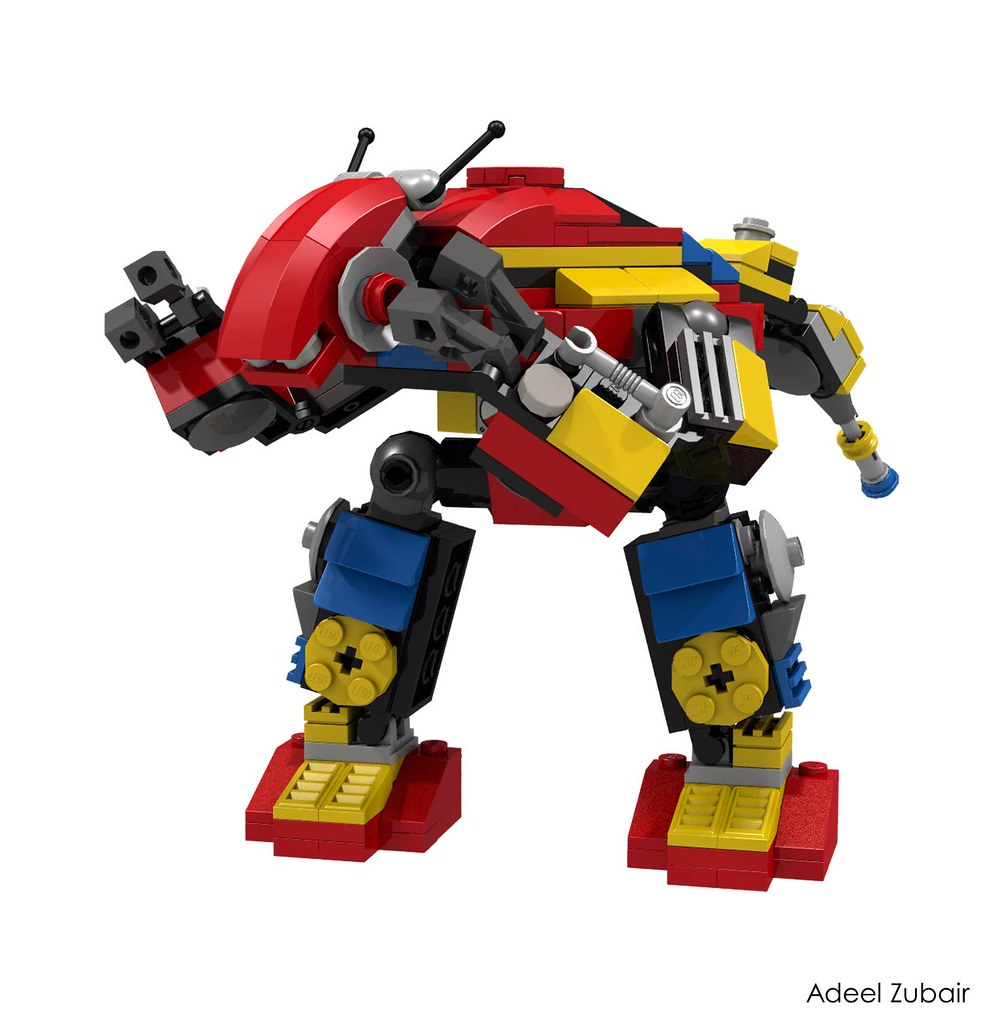 Lego Creator Clockwork Robot 31040 Alternative Model Flickr