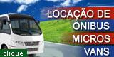 Locação de Ônibus e Vans em Luziânia