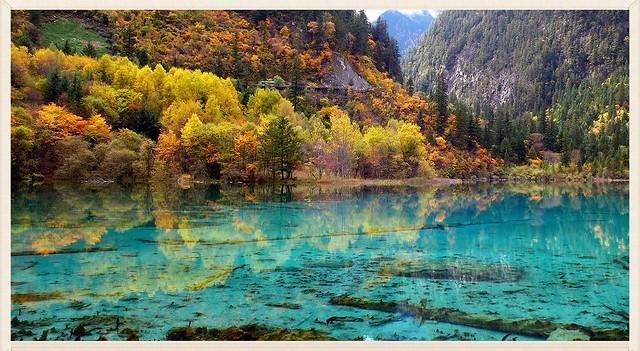 九寨溝犀牛海 Rhinoceros Lake, Jiuzhaigou