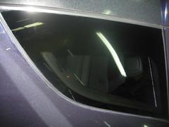 Cristal pulverizado. Mercedes ML. Despues