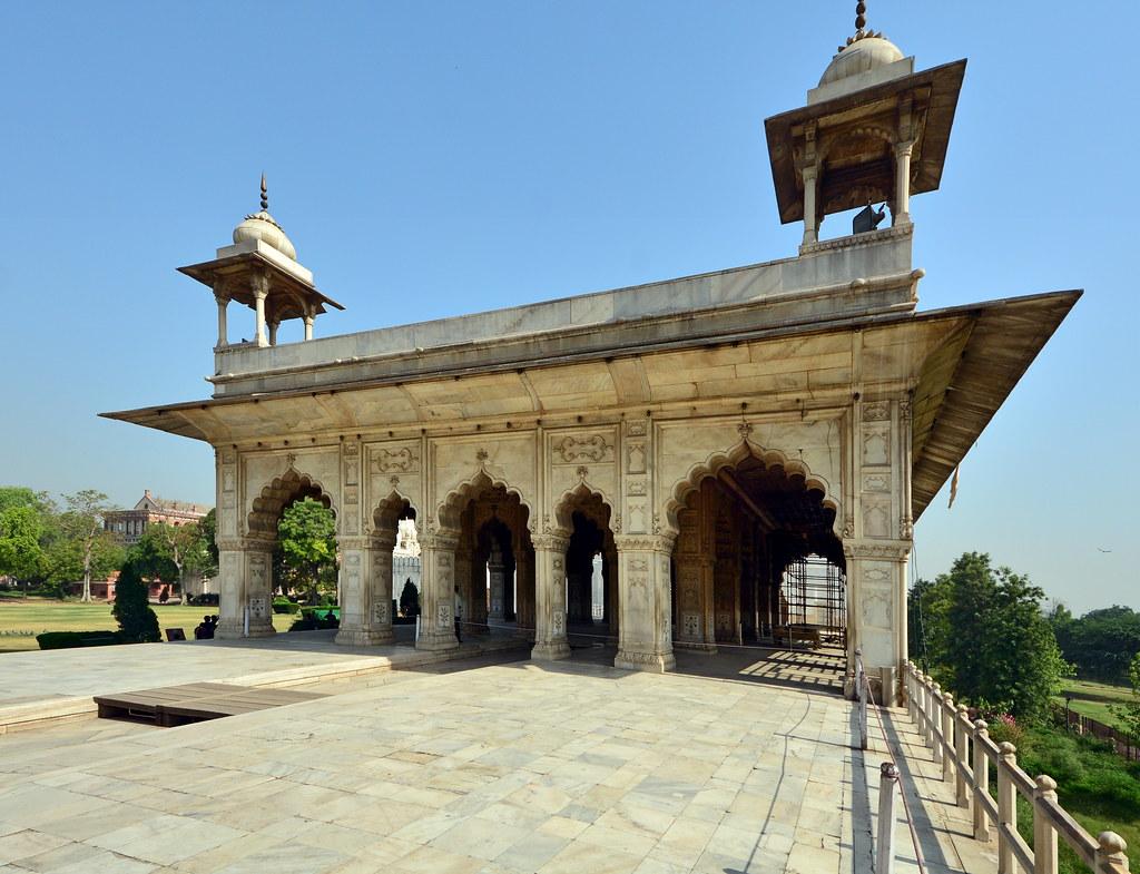 Diwan-i-Khas At Red Fort, New Delhi Editorial Stock Photo