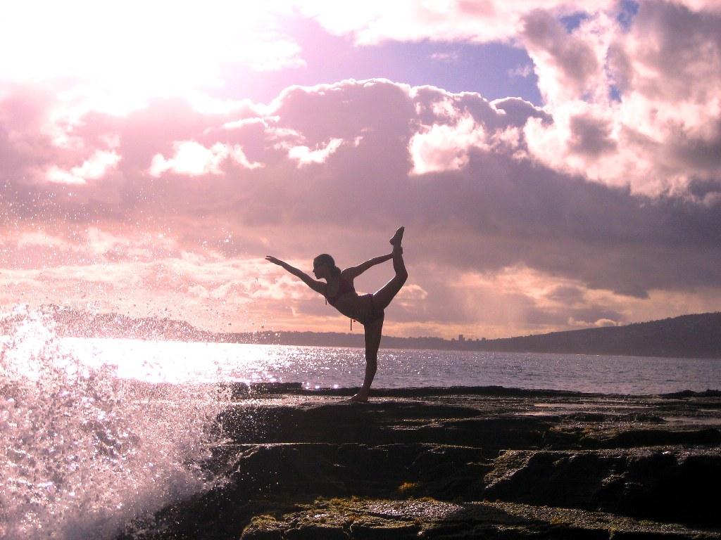 Women Do Yoga Sunset Hd Wallpaper Hard Quotes Flickr
