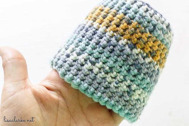 Crocheted Mason Jar Cozy
