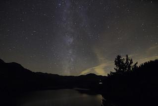 Voie lactée à Roselend Savoie | by Chris Llers