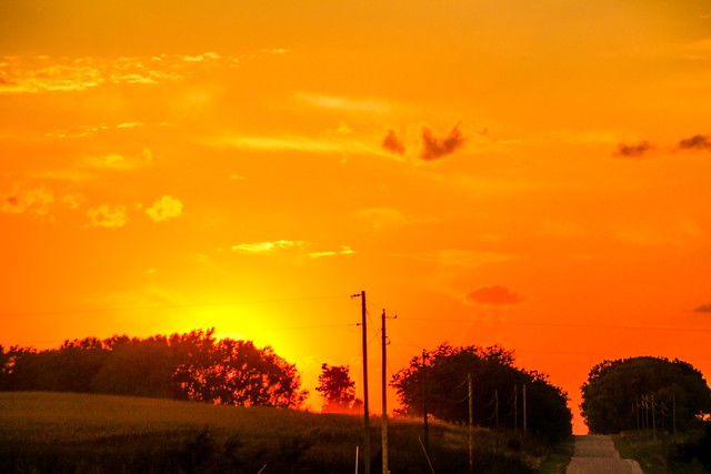 100114 - Nebraska Evening Sunset