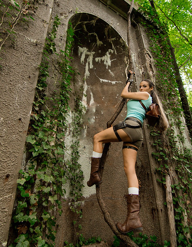 Tomb Raider Climbing | by Tolga Cetin Photography