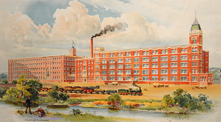 Lostock Junction Mills, Bolton, Wm Heaton & Sons Ltd circa 1910