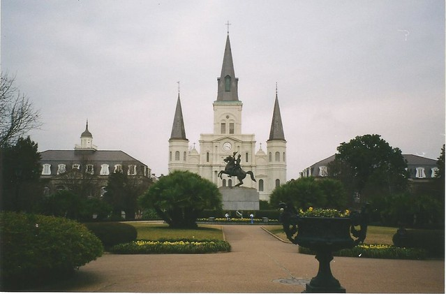La Catedral de San Luis, Nueva Orleans/St Louis Cathedral, New Orleans, United States - www.meEncantaViajar.com