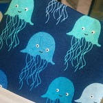 Jellyfish fabric!