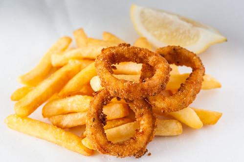 Calamari and chips | by ljology