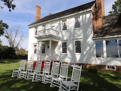 Waterside Facade, Woodlawn Farm Manor House, Ridge, MD