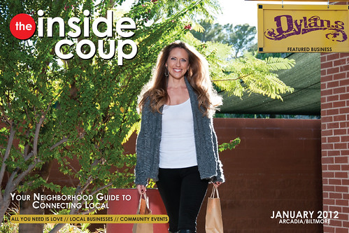 The Inside Coup - January Cover 2012 by Synergistic Studios | by synergistic.studios