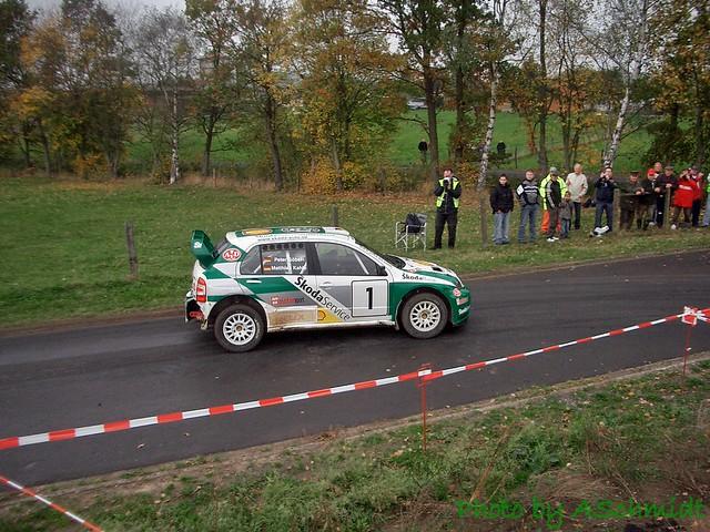 Matthias Kahle Skoda Fabia WRC