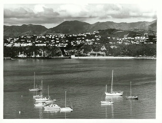 Wellington City Views: Taken from Evans Bay with Miramar in the background
