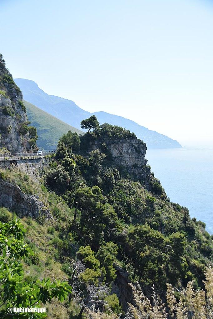 Rinnemaisema Amalfin rannikolla