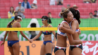 Incheon_AsianGames_Beach_Volleyball_20 | by KOREA.NET - Official page of the Republic of Korea