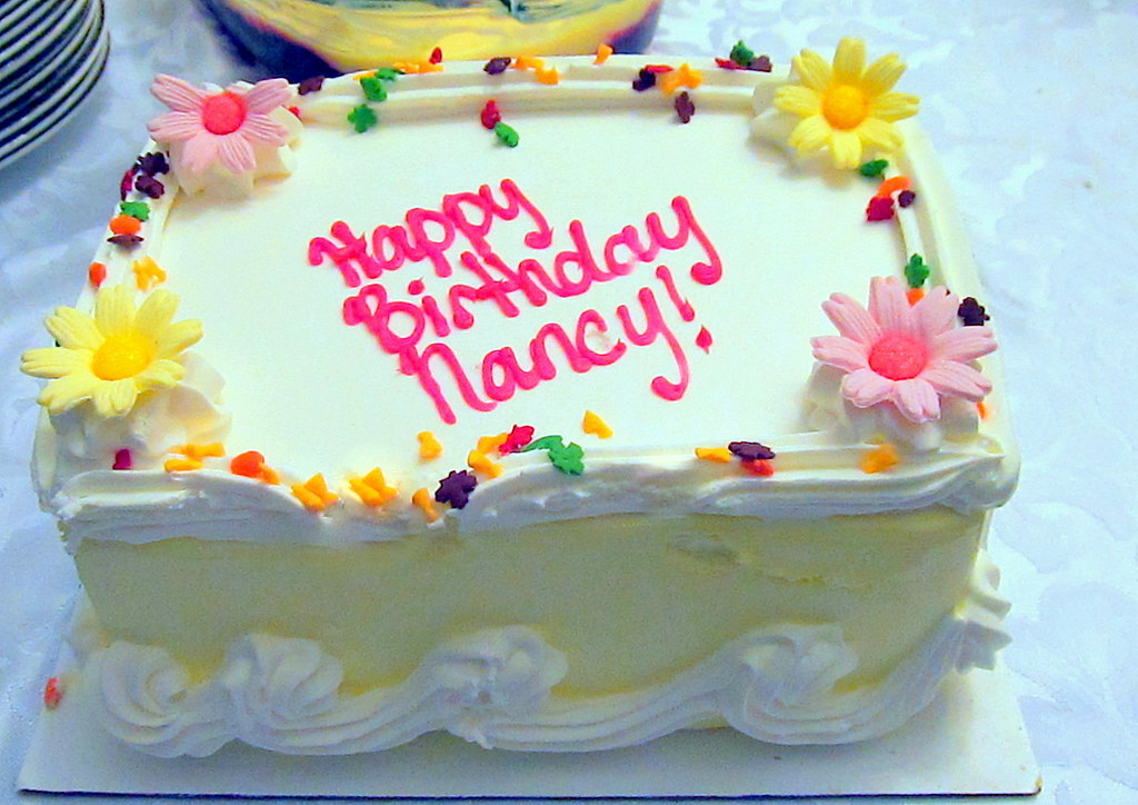 Terrific Happy Birthday Cake It Was Delicious Nan Fry Flickr Funny Birthday Cards Online Overcheapnameinfo