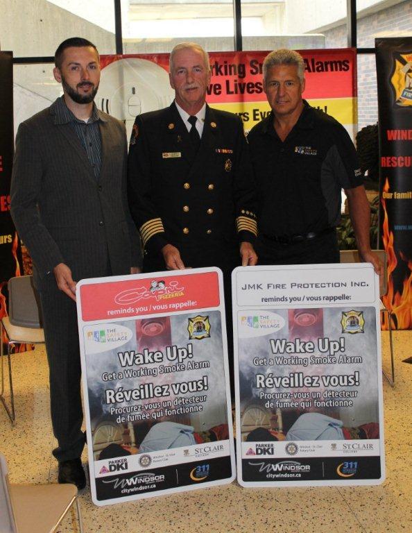Michael Lucier, Chief Montone, Shawn Boutette