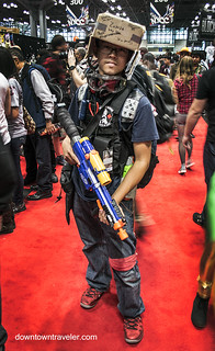 NY Comic Con 2014 Box Costume | by Downtown Traveler