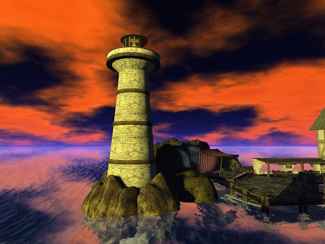 Caelestivm -Sheer  Surreality of an old Light House