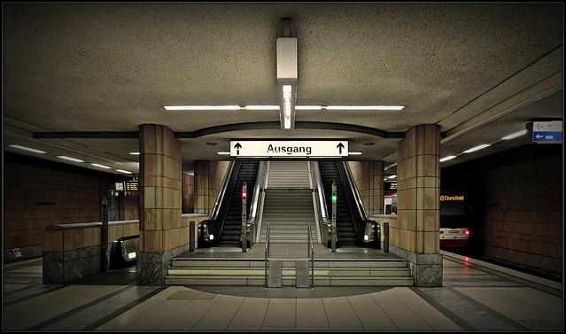 Dortmund - underground - westphalia