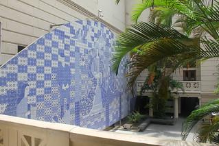 Tile Mural, Museu Nacional de Belas Artes