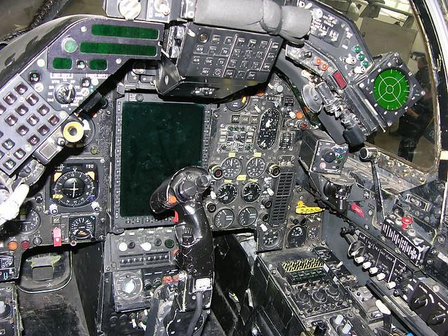 Jaguar Cockpit