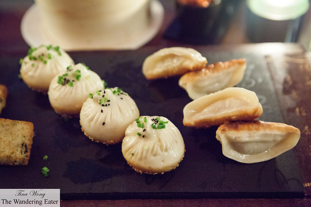 Shengjian bao and Pan-fried dumplings