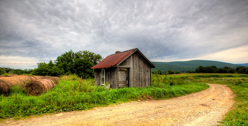 road barn farm massachusetts western berkshires hay hdr stasburdan