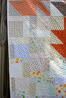 Modern Maples Quilt 2014 Close Up of quilting