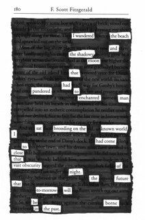 Blackout Poem: The Great Gatsby - 01 | by ChrisL_AK